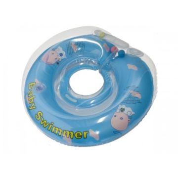 Круг для плавания Baby Swimmer 6-36кг (синий)