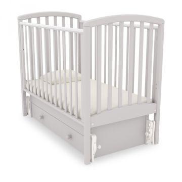Кроватка детская Гандылян Дашенька (универсальный маятник) (белая ночь)