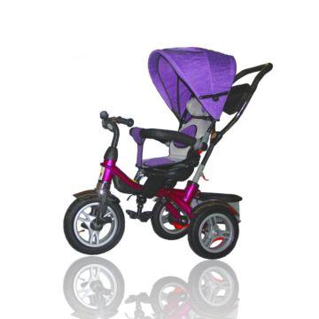 Трехколесный велосипед Ecoline Duetto 145320 (Фиолетовый)