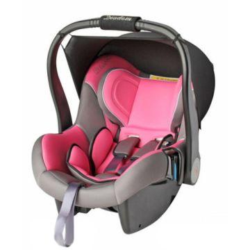Автолюлька Baby Care BS06-B3 Diadem (бежево-розовое)