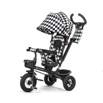 Трехколесный велосипед KinderKraft Aveo (black/white)