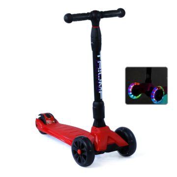 Самокат Triumf Active Maxi Pro Flash со светящимися колесами (красный)