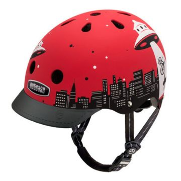 Шлем Nutcase Street Helmet Alien Abduction-S