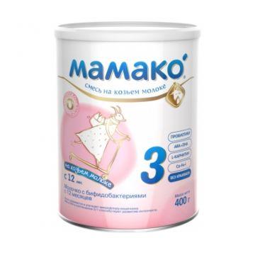 Смесь на козьем молоке Мамако 3 (с 12 мес.) 400 г