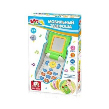 Развивающая игрушка музыкальная S+S Toys Мобильный телефоша (белый)