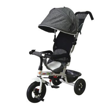 Трехколесный велосипед Babyhit Kids Tour XT с надувными колесами (серый)