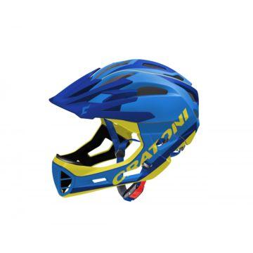 Шлем Cratoni C-Maniac Limited Edition S-M (blue-yellow)