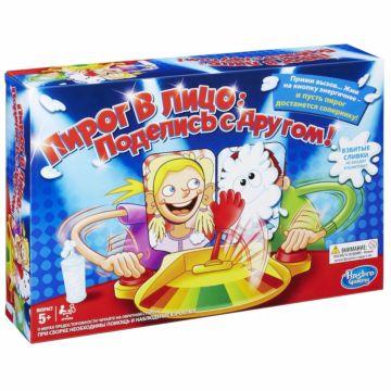 Настольная игра Hasbro Games Пирог в лицо: Поделись с другом!