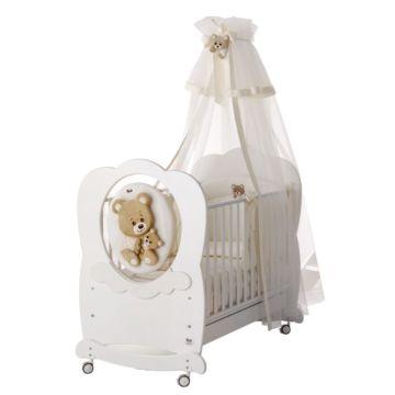 Кроватка детская Baby Expert Abbracci by Trudy (белая)