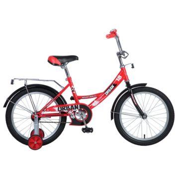 """Детский велосипед Novatrack Urban 18"""" (2016) красный"""