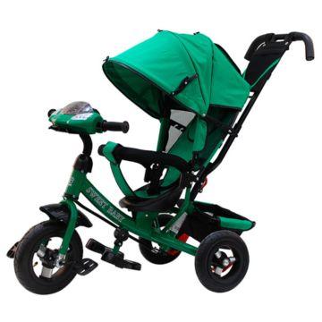 Трехколесный велосипед Sweet Baby Mega Lexus Trike Air Music Bar 10/12 Green