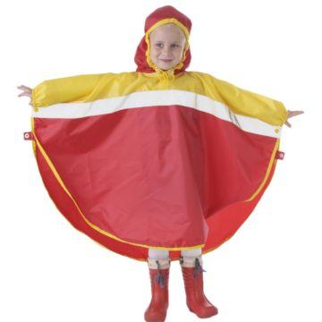 Дождевик детский Чудо-Чадо Светлячок (р.110-116) (Красно-жёлтый)
