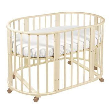 Кроватка-трансформер Sweet Baby Delizia без маятника (слоновая кость)