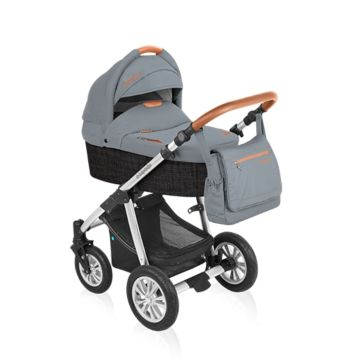 Коляска 2 в 1 Baby Design Dotty Eco (графит)