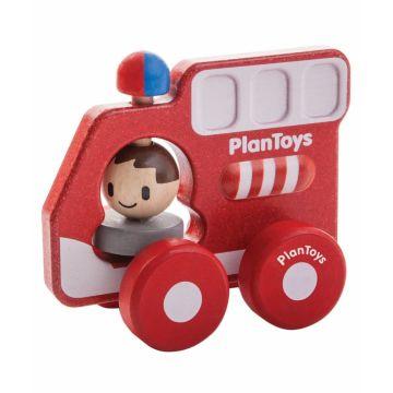 Деревянная машинка PlanToys Пожарная машина