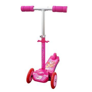Самокат Toymart 3-ех кол. Winx