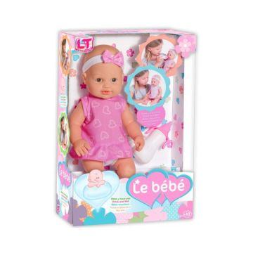 Кукла Loko Le Bebe с бутылочкой