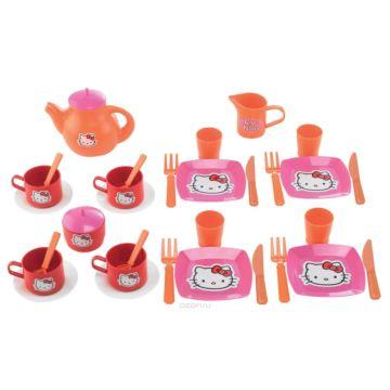 Детский набор посуды Ecoiffier Hello Kitty 2609