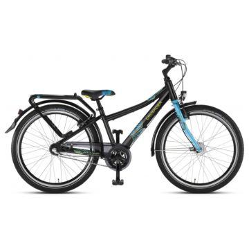 """Подростковый велосипед Puky Crusader 24-7 Alu City light 24"""" (black/lagoon)"""