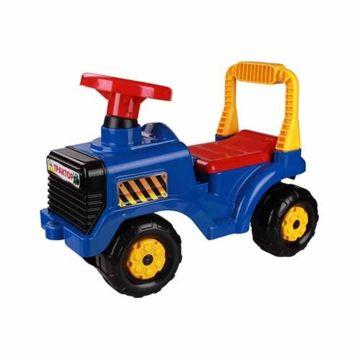 Каталка Plast Land Трактор (синий)