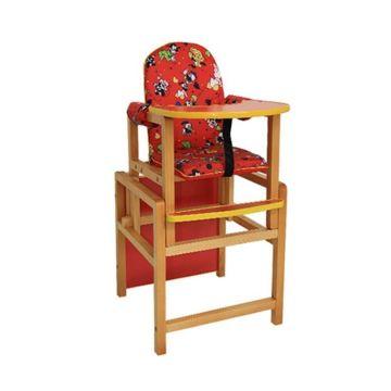 Стул-стол для кормления Вилт Малыш (красный)