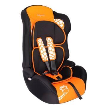 Автокресло Baby Care BC-513 Жирафик Люкс (оранжевый)