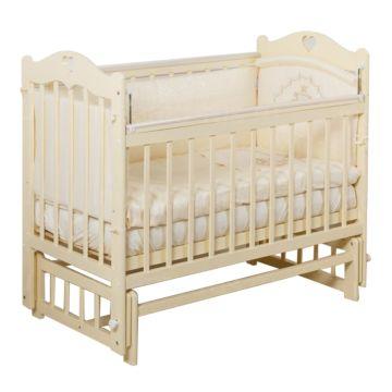 Кроватка детская Incanto Sofi (продольный маятник) (слоновая кость)