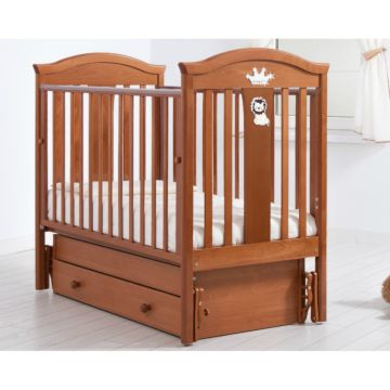 Кроватка детская Гандылян Даниэль (универсальный маятник) (вишня)