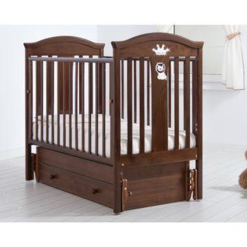 Кроватка детская Гандылян Даниэль (универсальный маятник) (орех)