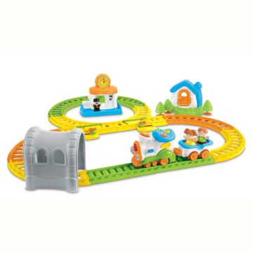Развивающая игрушка музыкальная Weina Железная дорога