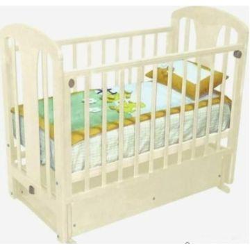 Кроватка детская Можга Виталина (поперечный маятник) (слоновая кость)