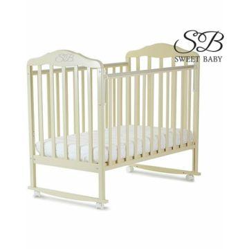 Кроватка-качалка Sweet Baby Lorenzo (Слоновая кость)