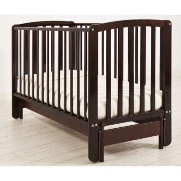 Кроватка детская Angela Bella Бьянка (продольный маятник) (махагон)