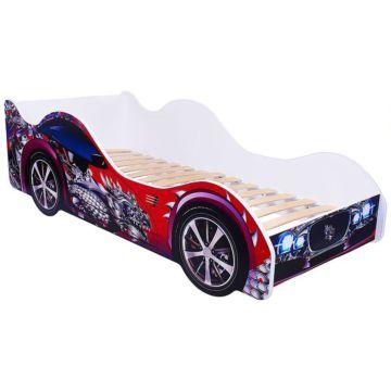 Кровать-машина Кроватка5 Машинки (Красный дракон)
