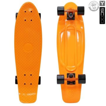 "Мини-круизер Y-Scoo Fish Skateboard 27"" с сумкой (оранжевый)"