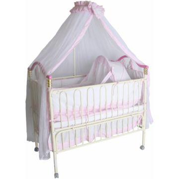 Кроватка детская Geoby 05TLY632 (розовый)