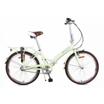 Велосипед складной Shulz Krabi V-brake (2017) салатовый