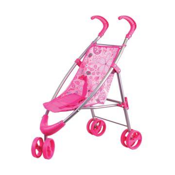 Коляска для куклы Gulliver 2212030 (Розовый)