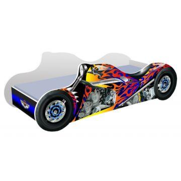 Кровать-мотоцикл Кроватка5 Байк (Черный)