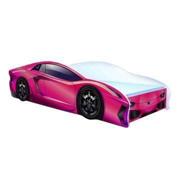 Кровать-машина Кроватка5 Ламбо (розовая)