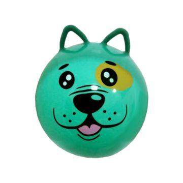 Гимнастический мяч Moby Kids Щенок с ушками (45) (Зеленый)