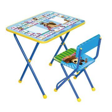 Комплект детской мебели Ника Детям Маша и медведь Азбука 2