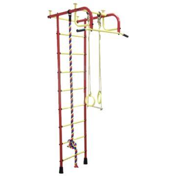 Детский спортивный комплекс Пионер 1 (красно-желтый)