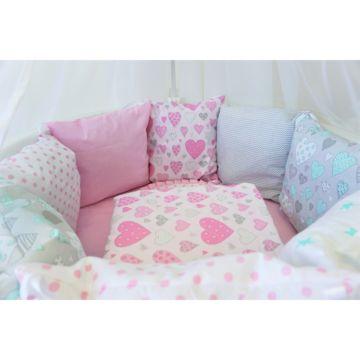 Комплект постельного белья Sleep and Smile (11 предметов, хлопок) (мечта)