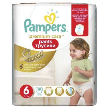 Подгузники-трусики Pampers Premium Care Extra Large (от 16 кг) 19 шт