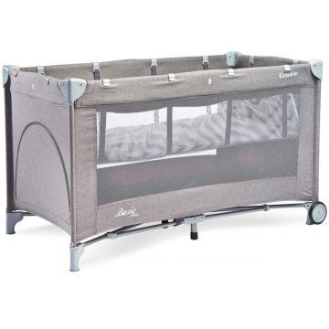 Манеж-кровать Caretero Basic Plus (серый)