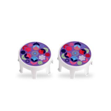 Накладка на колеса Micro (floral dot)