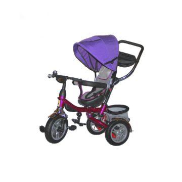Трехколесный велосипед Ecoline Duetto 145430 (Фиолетовый)