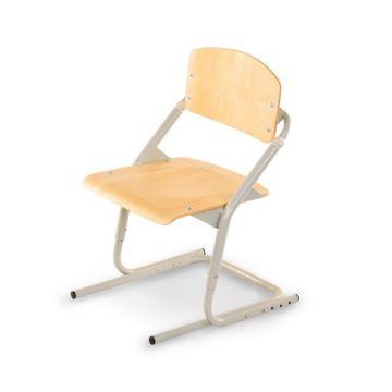 Растущий стул Pondi (клен/серый)