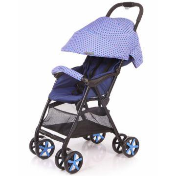 Коляска прогулочная Jetem Carbon (синий)